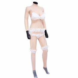 Crossdresser Bodysuit mit Vagina und Brüsten