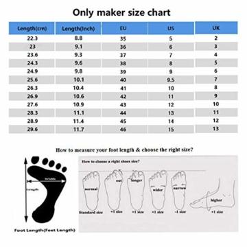Only maker Damen Sandaletten Open Toe Plateau Glitzer Metallic Riemchensandalen Schnalle Stiletto High Heels Schwarz 46 EU - 5